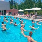 Aquazumba piscina exterior gimnasio aguas