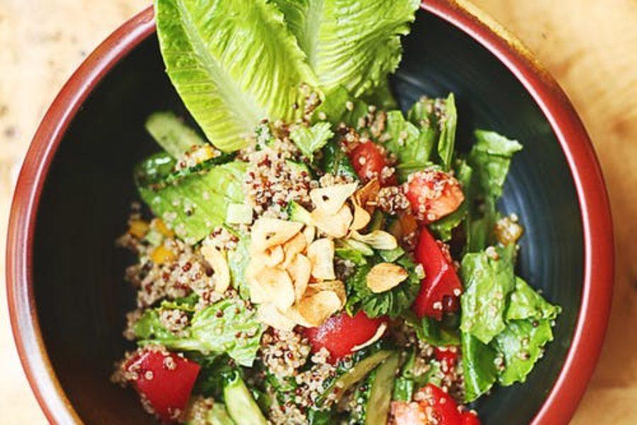 Alimentación saludable durante la cuarentena